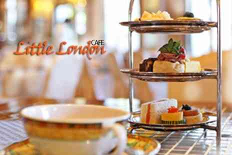 Little London CafA - Afternoon Tea For Two - Save 50%