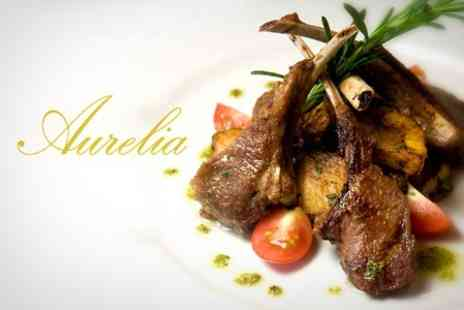 Aurelia - Two Course Meal For Two With Prosecco - Save 46%