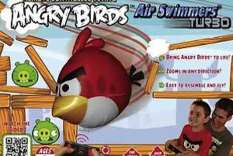 EIC Direct - Angry Birds Air Swimmer Hours Of Flying Fun For The Whole Family - Save 70%