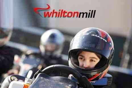 Whilton Mill - 40 Laps of Karting For One - Save 60%