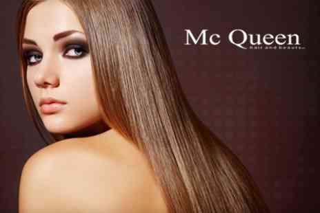 McQueen Hairdressers - Keratin Blow Dry Treatment - Save 51%