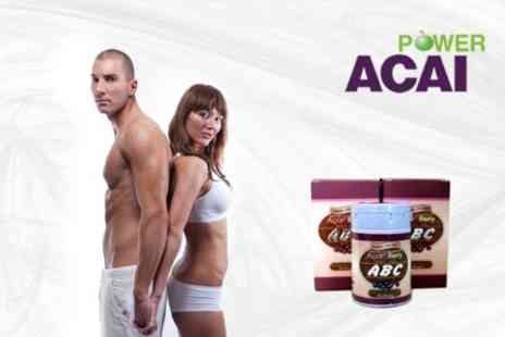 Power Slim Acai - Course of Acai Berry Slimming Capsules for Three Months - Save 87%