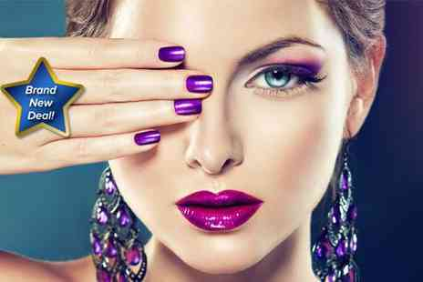 Head 2 Toe - Two Manicures with GelFX polish  - Save 74%