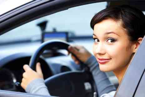 DSBS UK - Two one hour driving lessons including theory test training with a fully qualified instructor  - Save 50%