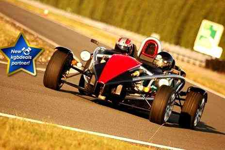 Atom Xtreme - An adrenaline packed 3 lap experience in an Ariel Atom for Two - Save 72%
