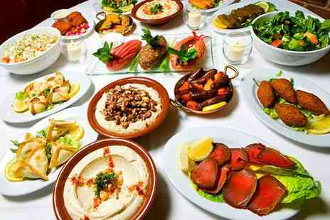 Bouzouki by Night - 15 Dish Greek meze banquet for two and dessert  - Save 58%