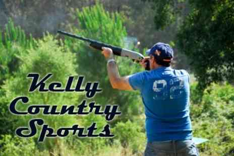 Kelly Country Sports - Clay Pigeon Shooting With Breakfast - Save 50%