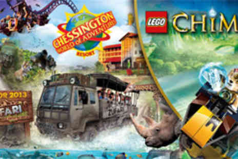 Chessington World of Adventures Resort - Family Overnight Stay - Save 28%