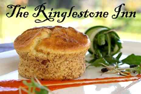 The Ringlestone Inn - Two Course Traditional Lunch With Tea or Coffee For Two - Save 64%