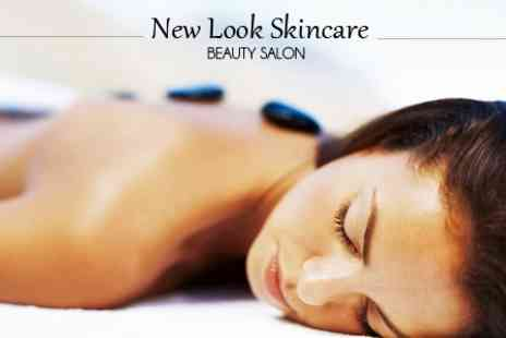 New Look Skincare Beauty Salon - Choice of Massage Such as Hot Stone - Save 67%