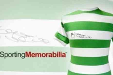 A1 Sporting Memorabilia - Celtic 1967 European Cup Winners Replica Shirt Signed By Celtic Legend Billy McNeill MBE - Save 60%