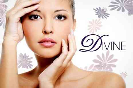 Divine - Spa Facial or Manicure and Pedicure or All Three Treatments - Save 52%