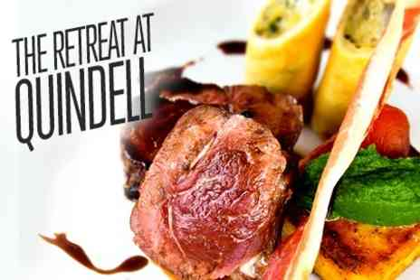 The Retreat - Five Course Taster Menu For Two - Save 34%