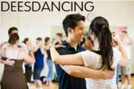 Deesdancing - Dance Lessons For Two Four Beginner Classes Such as Ballroom, Salsa and Samba - Save 68%