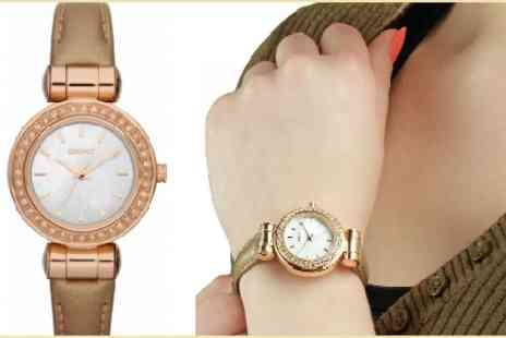 Eic Direct - Get this Gorgeous Glitzy Ladies Dkny Watch- Save 50%