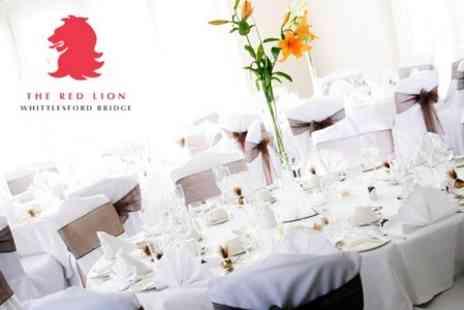 The Red Lion - Wedding Package With Three Course Afternoon Tea and Evening Reception - Save 52%