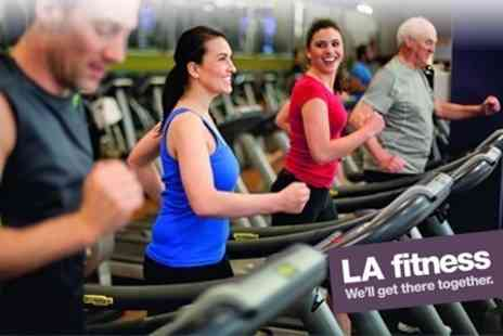 LA fitness - Ten Individual Day Passes Including Exercise Class Access - Save 87%