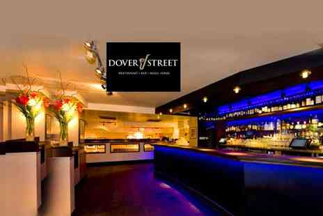 Dover Street Restaurant & Bar - 5 Courses and a Cocktail For 1 - Save 55%