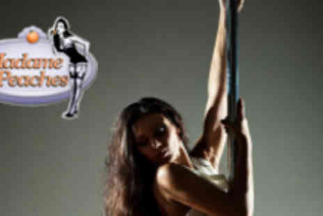Madame Peaches - Five Pole Dance Fitness Classes - Save 60%