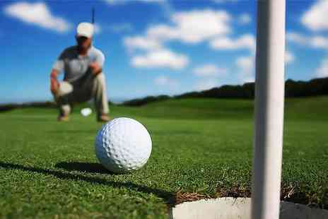 Kent & Surrey Golf Club - Day of Golf for two - Save 78%