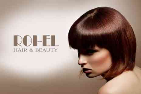 ROI El Hair and Beauty - Full Head of Highlights or Colour with Cut and Blow Dry - Save 67%