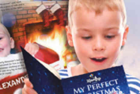 My Perfect Story - Childs Personalised Christmas Storybook - Save 50%