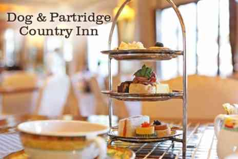 The Dog and Partridge - Afternoon Tea For Two - Save 40%