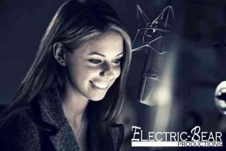Electric Bear Productions - Recording Studio Session With Mixed CD - Save 26%