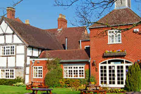Kings Court Hotel - Warwickshire Stay with Dinner for Two - Save 50%