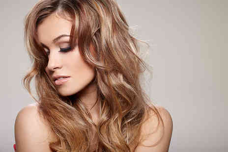 Ivor Hairdressing - T section of highlights, cut and blow dry with Ivor Hairdresssing - Save 71%