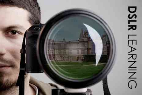 DSLR Learning - Beginners Photography Workshop Including - Save 50%