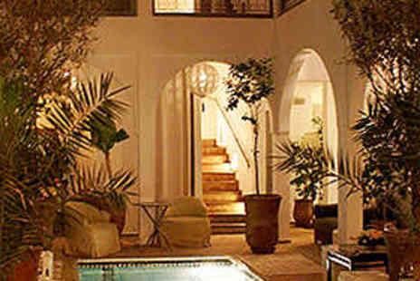 Riad Utopia Suites and Spa - Three Night Stay for Two People in Junior Suite - Save 45%