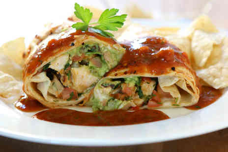 Mexway - Burrito meal for 2 including sides - Save 55%