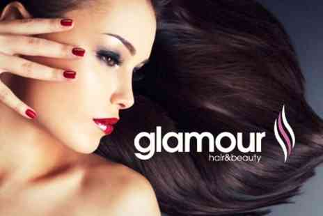 Glamour Hair and Beauty - Shellac Lux Manicure  - Save 68%