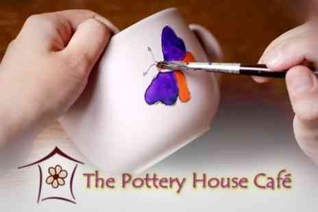 The Pottery House Cafe - Ceramic Painting For Two - Save 58%