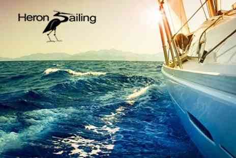 Heron Sailing - Yachting Three Hour Taster Class For One With Food - Save 51%