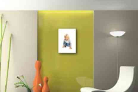 Chrome Fixings - Custom A4 Acrylic Photo Wall Print - Save 75%