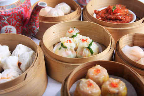 Dim Sum House - 7 Course Chinese meal for 2 including wine & tea - Save 55%