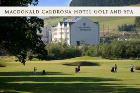Macdonald Cardrona Hotel Golf and Spa - Round of Golf and 50 Driving Range Balls With Refreshments For One - Save 44%