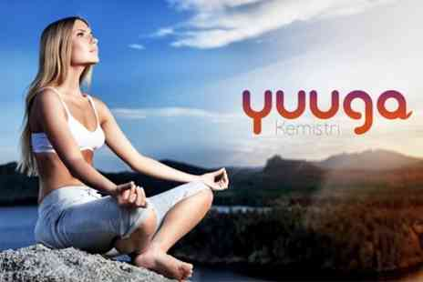 Yuuga Kemistri - Yoga Five 75 Minute Sessions Including 20 Minutes of Face Yoga - Save 76%