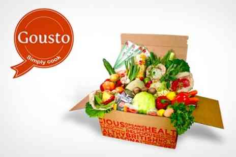 Gousto - Fresh Ingredients For Three Recipes of Choice - Save 50%