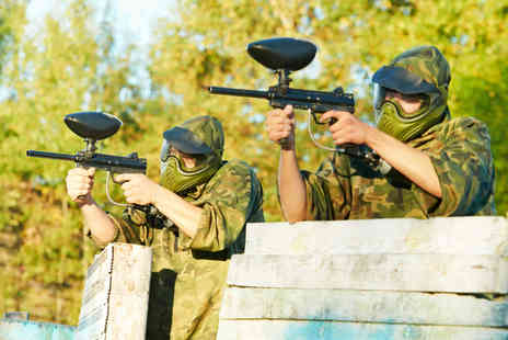 Unreal Paintball - Day of paintballing inc. 100 balls & lunch for 1- Save 82%