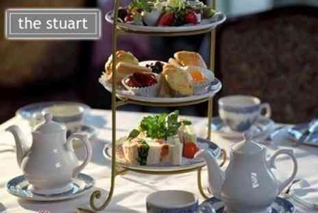 The Stuart Hotel - Traditional Afternoon Tea For Two - Save 26%