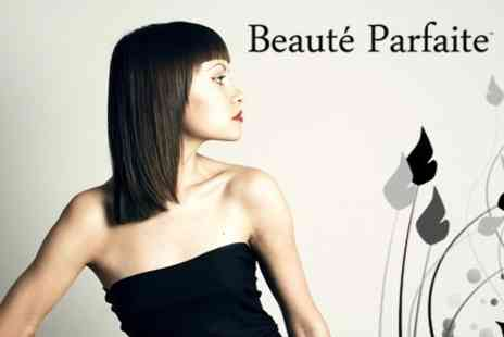 Beaute Parfaite - Half Head Highlights or Full Head Colour With Cut and Finish - Save 57%