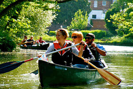 Back of Beyond Adventures - 2½ hour canoeing experience on the River Thames - Save 24%