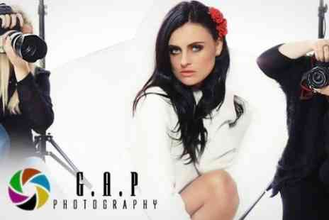 Gap Photography - Fashion or Boudoir Photoshoot With Makeover and Framed Print For One - Save 92%