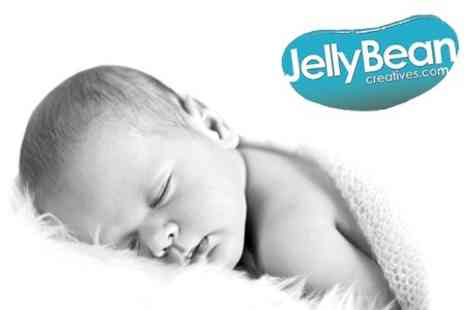 JellyBean Creatives - Baby or Family Photoshoot With Photobook - Save 81%
