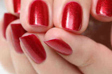 Me Time Hair and Beauty - Manicure and Gellux Polish - Save 57%