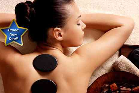 New Look Skincare Beauty Salon - Hot stone back and shoulder massage - Save 67%