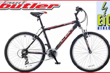 Eic Direct - Head for the Hills with this Stylish Claud Butler Black Hawk 26W Mountain Bike - Save 50%